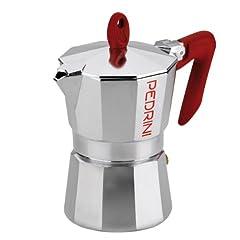 Idea Regalo - Pedrini 9083 Caffettiera, Kaffettiera, 3 tazze
