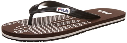 Fila Men's Rhythm Flip Coffee, Black and White Hawaii Thong Sandals -11 UK/India (45 EU)  available at amazon for Rs.199