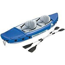 Bestway Hydro-Force Lite-Rapid x2 - Kayak doble, 321 x 88 cm, incluye dos remos desmontables