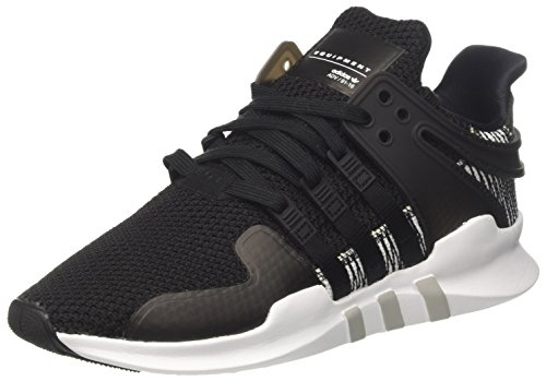 adidas EQT Support ADV, Sneakers Basses Homme, Noir (Core Black/Footwear White), 42 EU