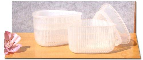 Gifts Of The Orient - Tamaños De Plástico X 2 Sushi Molde Triangulares Onigiri Japonés width=