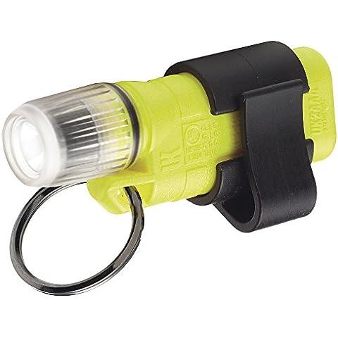 UK Lights 09065 - Linterna de bolsillo mini funciona con 2 pilas AAA xenón color amarillo neón
