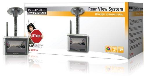König Drahtloses Kamera-Rückfahrsystem SEC-VIEW30