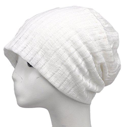 KeepSa Unisex's Beanie Hut Hedging Cap Sonnenhut Cotton Thin Mesh Verstellbare Größe AC2A16 - zum Angeln, Wandern, Camping, Reisen, Jagen, (Braun Marine Hut Offizier)