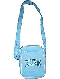 Nike - Bolso cruzados para mujer Azul azul claro