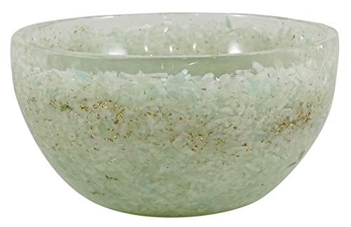 HARMONIZE Talladas a Mano Verde avanturine tazón Reiki Energía Cristal Piedras Générateur de