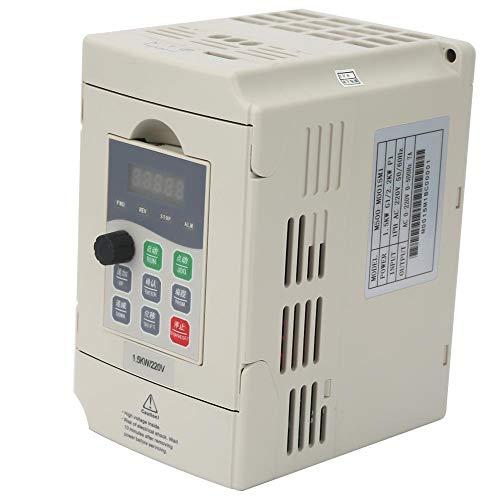 Frequenzumrichter VFD 220 V 7A Einphasen Drehzahlregler für CNC-Fräserspindel 0,4 kW / 0,75 kW / 1,5 kW(1.5KW) -