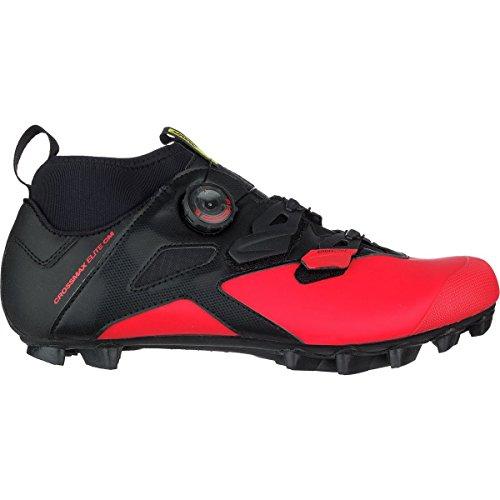 Mavic Crossmax Elite CM - Zapatillas - Rojo/Negro Talla del Calzado UK 10,5 / EU 45 1/3 2019