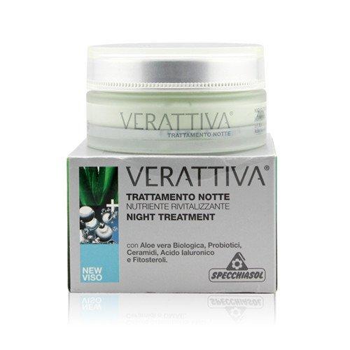 Specchiasol Linea Verattiva Trattamenti Anti-Rughe Crema Nutriente Notte 50 ml