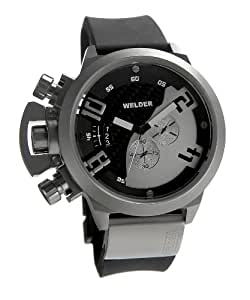 Welder - K24 3205 - Montre Homme - Quartz Chronographe - Bracelet Caoutchouc Noir