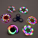 #4: jannat Fidget Spinner with Light Hand Spinner Ultra Speed Tri-Spinner Toy - Colours May Vary