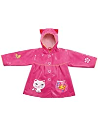 Kidorable Kids Lucky Cat Raincoat (Small (80-86cm 2-3 years))