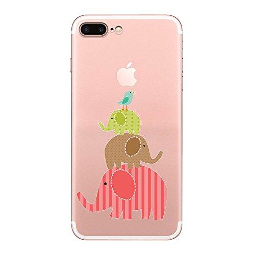 IPHONE 7 Hülle Ananas Elefanten Giraffe Weich Silikon TPU Schutzhülle Ultradünnen Case Schutz Hülle für iPhone 7 YM85