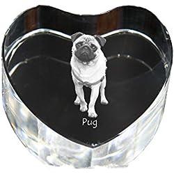 Doguillo, Corazón de cristal con el perro pug edición limitada