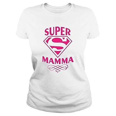 Ideamaglietta Maglietta Mamma Super T Shirt Idea Regalo Festa