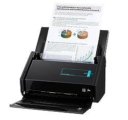 Fujitsu ScanSnap iX500 Dokumentenscanner (600dpi, WiFi, USB 3.0, Abbyy PDF Finereader MAC / WIN) OHNE Nuance Power PDF