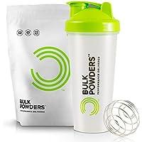 BULK POWDERS Pure Whey Protein 1kg Vanilla + Shaker 600ml