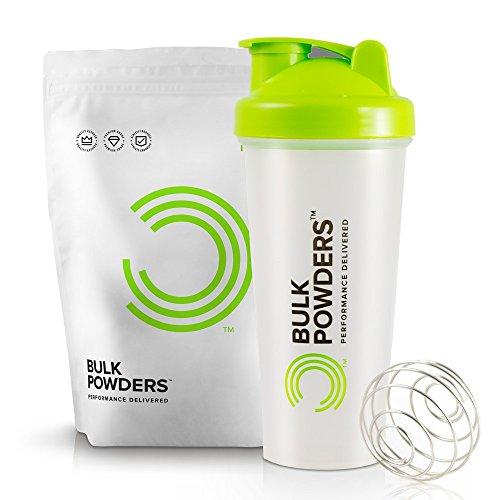 BULK POWDERS Pure Whey Protein 1kg Chocolate + Shaker 600ml
