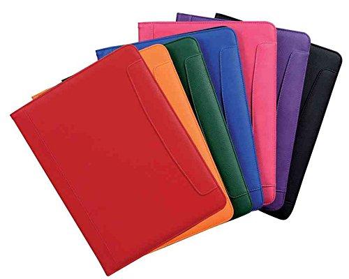 Alassio 30087 - Schreibmappe MESSINA im DIN A4 Format, Businessmappe aus Lederimitat, Dokumentenmappe in rosa, Mappe ca. 32,5 x 24,5 x 2 cm