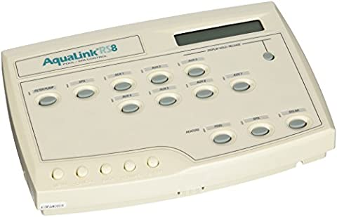 Zodiac 6886 AquaLink RS8 All Button Combo Pool and Spa Indoor Wired Control Panel
