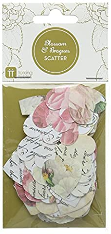 Talking Tables Blossom Floral Paper Scatter (Multicolour) for a Birthday, Wedding or Tea Party