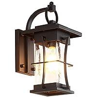 Wall lamp Lámpara De Pared para Exteriores Apliques De Pared De Estilo Japonés Lámparas De Pared