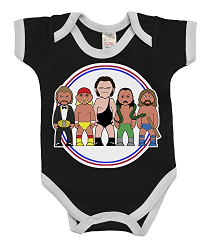 VIPwees Baby Kleidung Babygrow Legends Of Wrestling Boys & Girls Baby Bodysuit