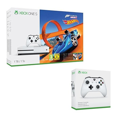 Console Xbox One S 1To Forza Horizon 3 + Hot Wheels + 2è manette