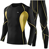 Sports Long Sleeve Compression Fitness Sets Tights Shirt Long Sports Pants for Gym and Outdoor
