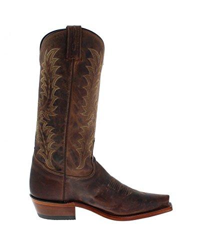 FB Fashion Boots Tony Lama 6979 D Tan/Herren Westernreitstiefel Braun/Herrenstiefel/Reitstiefel/Western Riding Boots Tan (Weite EE)
