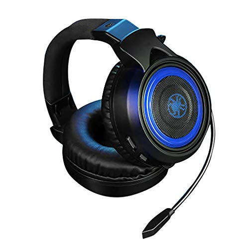 G600 GameDAC Over-Ear Gaming Headset + Audioverstärker / PS4 + PC Hochauflösendes Audiosystem/Einstellbarer Soundeffekt Hörposition/Gehörschutz-Design/Mit Mikrofon Kopfhörer Blau