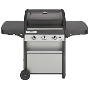 Campingaz Barbecue à Gaz Acier Double Emaillage Gris/Noir