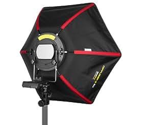 SMDV Speedbox-50 II Hexagon Softbox 54 cm für System- / Aufsteckblitzgeräte mit Streben aus Stahl