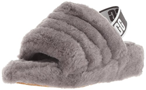 UGG - Fluff Yeah 1095119 - Charcoal, Taille:38 EU