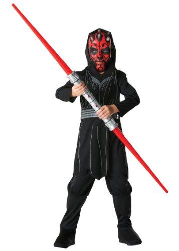 Ideen Maul Kostüm Darth (Rubie's 3 881887 M - Darth Maul Box Set Kostüm, Größe)