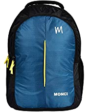 MONCI Milestone Laptop Bag for Women and Men | Backpacks for Girls Boys Stylish | Trending Backpack | School Bag | Bag for Boys Kids Girl | 15 Inch Laptop Bag | Blue (sea Green)