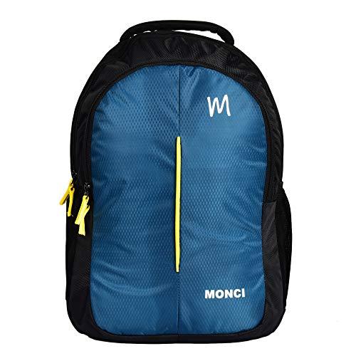 MONCI Milestone Laptop Bag for Women and Men | Backpacks for Girls Boys Stylish | Trending Backpack | School Bag | Bag for Boys Kids Girl | 15 Inch Laptop Bag | Blue (sea Green)