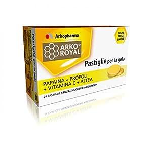 Bonbons per la gola ai propoli con vitamina c 20 pastiglie