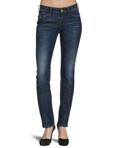 Replay Damen Straight Fit (Gerades Bein) Jeanshosen Blau (11 OZ deep blue comfort denim 951)