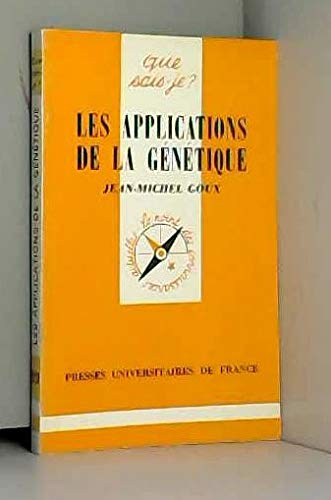 Les applications de la génétique par J.-M. Goux