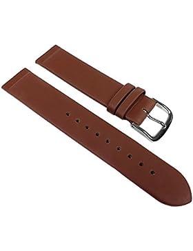 Minott Leder Uhrenarmband Braun Anstoß zum verschrauben passend zu Skagen Boccia Bering 22543, Stegbreite:14mm
