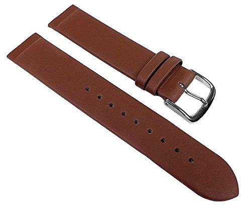 Minott Leder Uhrenarmband Braun Anstoß zum verschrauben passend zu Skagen Boccia Bering 22543, Stegbreite:22mm
