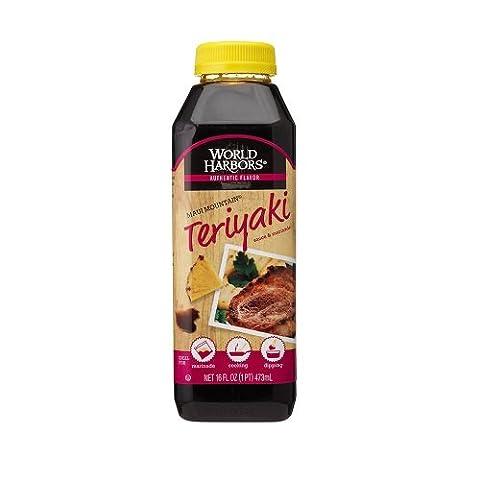 World Harbours Teriyaki Sauce 473 ml (Pack of 6)