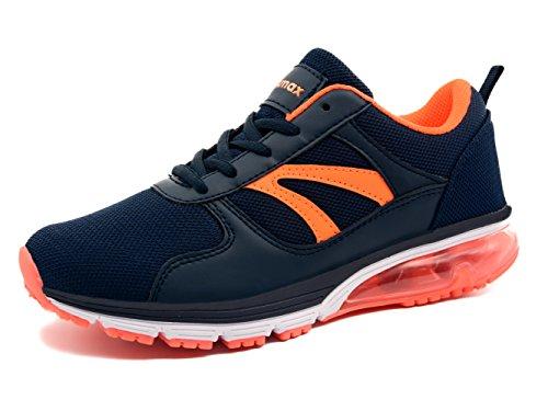 Knixmax Femme Basket Chaussures de Course Femme Running Sneakers Sports Fitness Outdoor Casual, Bleu, 41 EU (8)