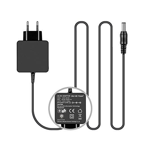 TÜV HKY 12V Universal Netzteil Ladegerät Ladekabel Steckernetzteil für LED-Streifenlicht, Fritzbox, Externe Festplatte, Western Digital, Verbatim, Seagate, Speedport