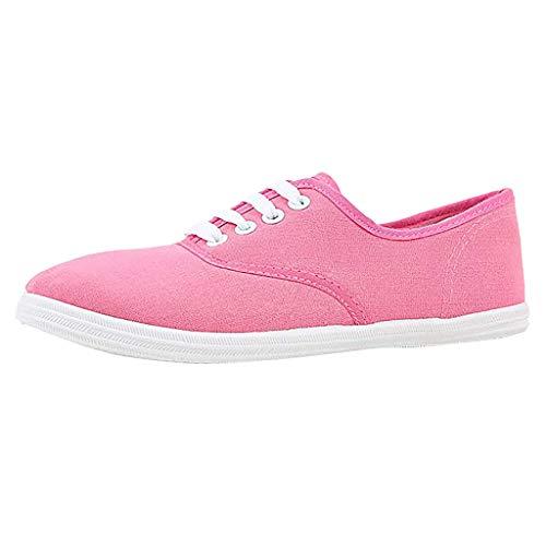 Dasongff Stoffschuhe Damen Sneaker Low Übergrößen Flandell Freizeit Damenschuhe Sommerschuhe in 13 Farben Gr 35-44
