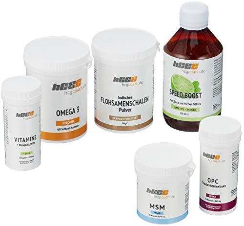 hcgcoach.de Stoffwechselkur 30 Tage Basisversorgung in Spitzenqualität (SpeedBoost Limette Minze)