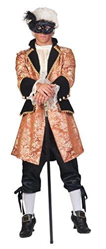 Karneval-Klamotten Rokoko Kostüm Herren Barock Kostüm Karneval Renaissance Herren-Kostüm Größe 48/50