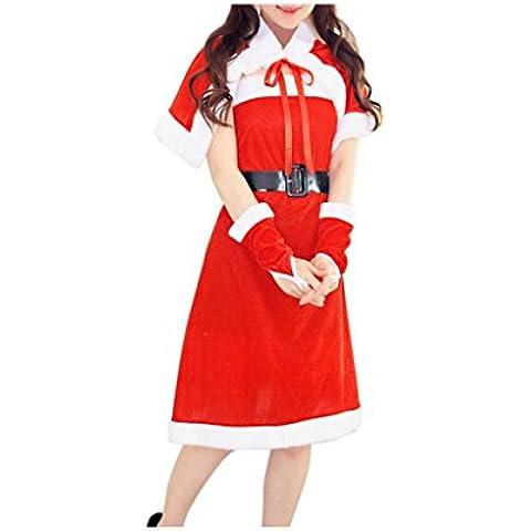 Koly_Vestito operato dal costume delle donne Babbo Natale