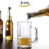 Enfriadores de Botellas, Enfriador de Cerveza de Acero Inoxidable Enfriador para Botellas de Vino Varita Enfriadora de Cerveza Regalo Perfecto Para Fiestas y Diversión en la Barra - 2 Uds
